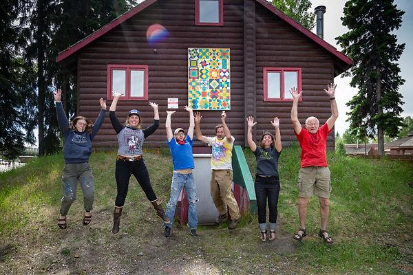 Folk School Install team jump.jpg