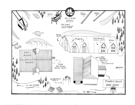 Kirkwood Ski School Map