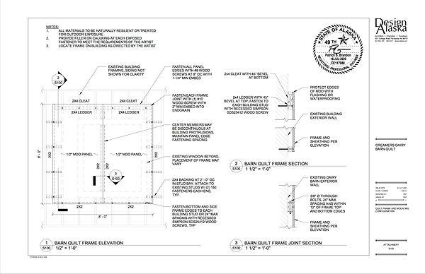 2020-07-16 Creamers Field Barn Quilt Fra