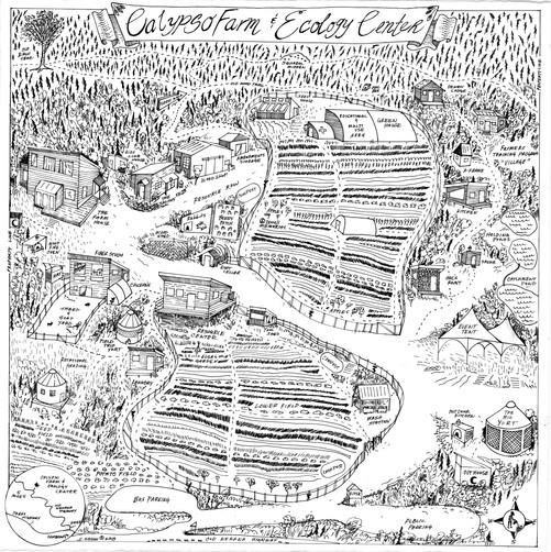 Calypso Farm Map 2018