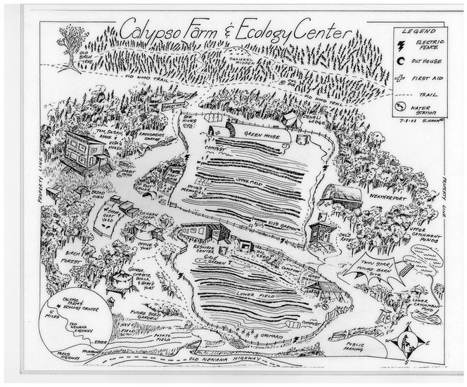Calypso Farm Map 2008