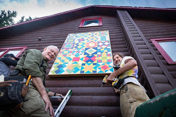 Folk School Installation-John and Tom.jp