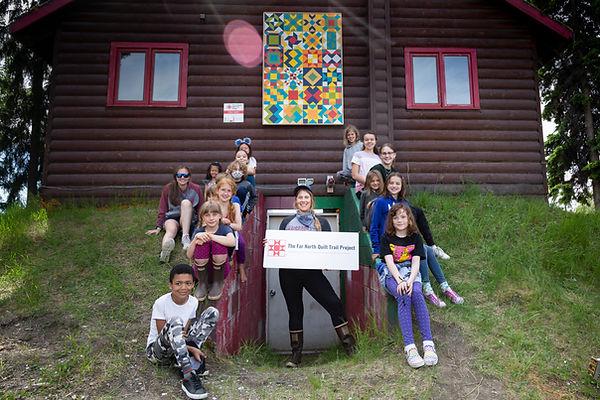 Folk School Installation- kids and somer