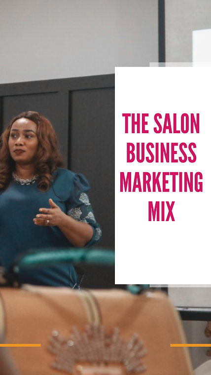 salon marketing mix