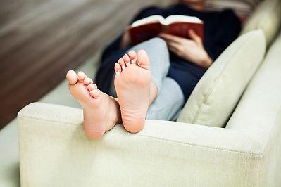כפות רגליים חלקות