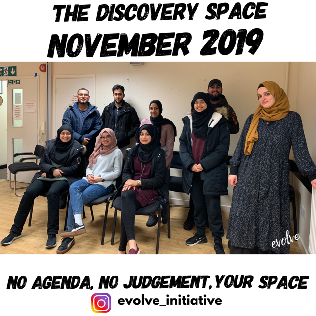 Harrow - An open space for young adults -  November 2019
