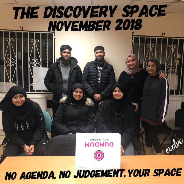 Harrow - An open space for young adults -  November 2018