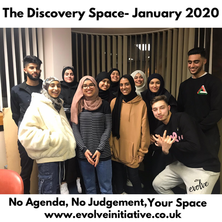 Harrow - An open space for young adults -  January 2020