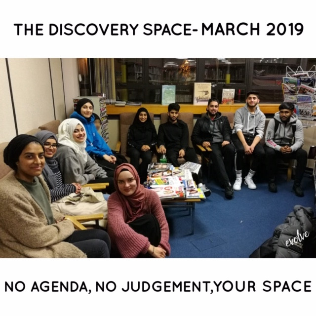 Harrow - An open space for young adults -  March 2019