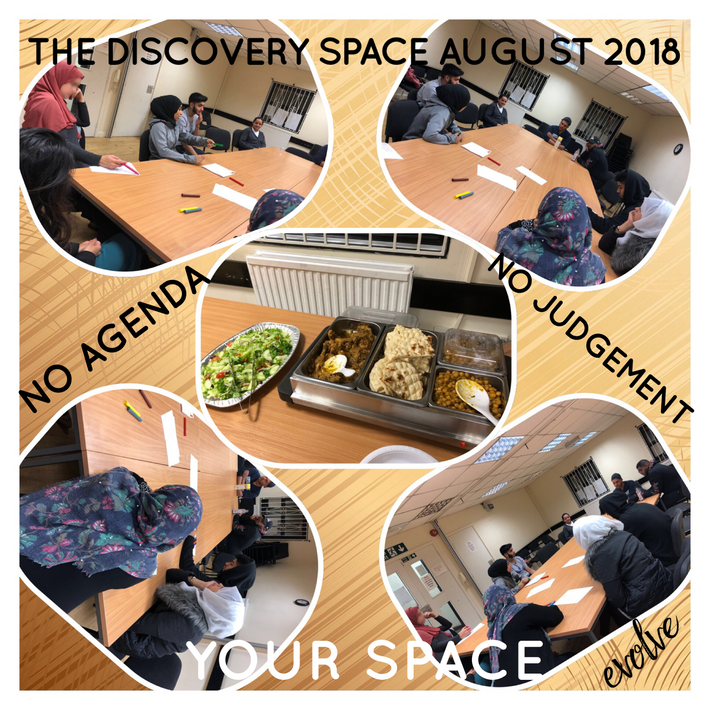 Harrow - An open space for young adults -  August 2018