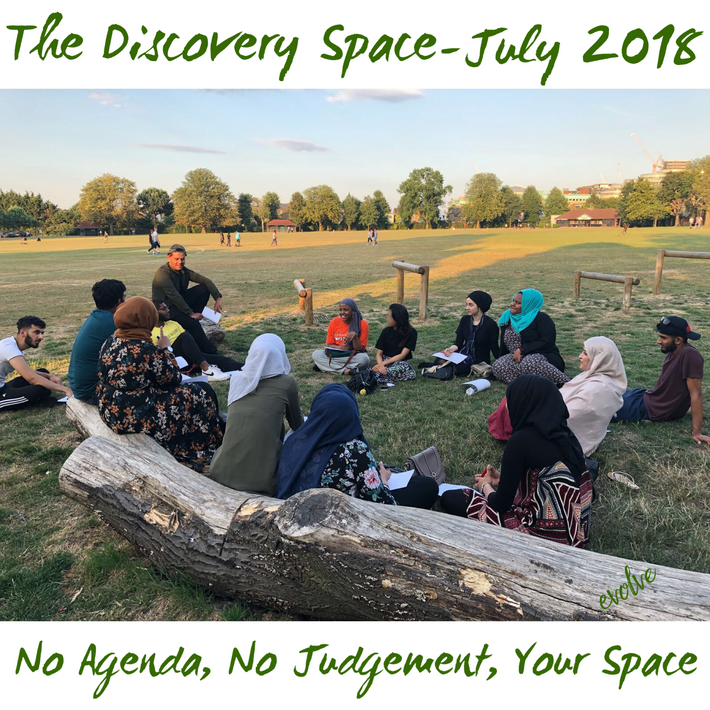 Harrow - An open space for young adults -  July 2018