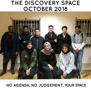Harrow - An open space for young adults -  October 2018