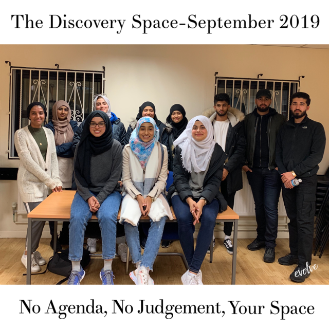 Harrow - An open space for young adults -  September 2019