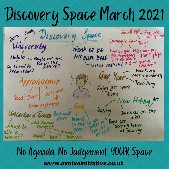 Harrow - An open space for young people (18-25 year olds) -  March 2021