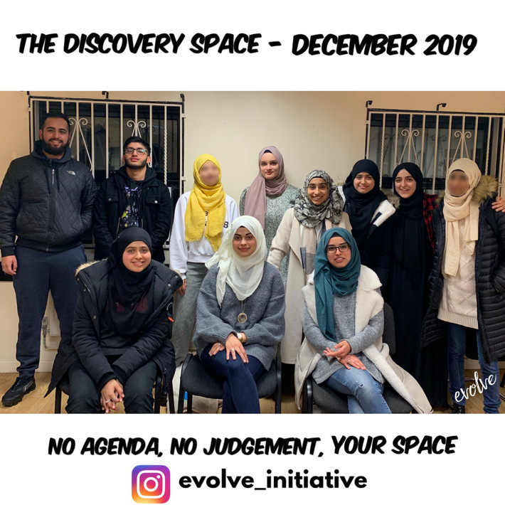 Harrow - An open space for young adults -  December 2019