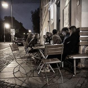 Midnight dining in Dresden