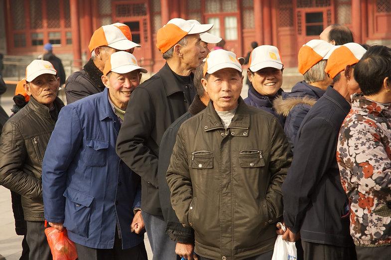 Seniors Tour Summer Palace Beijing