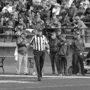 Bill Robers: Football Referees are Deaf but not Blind!