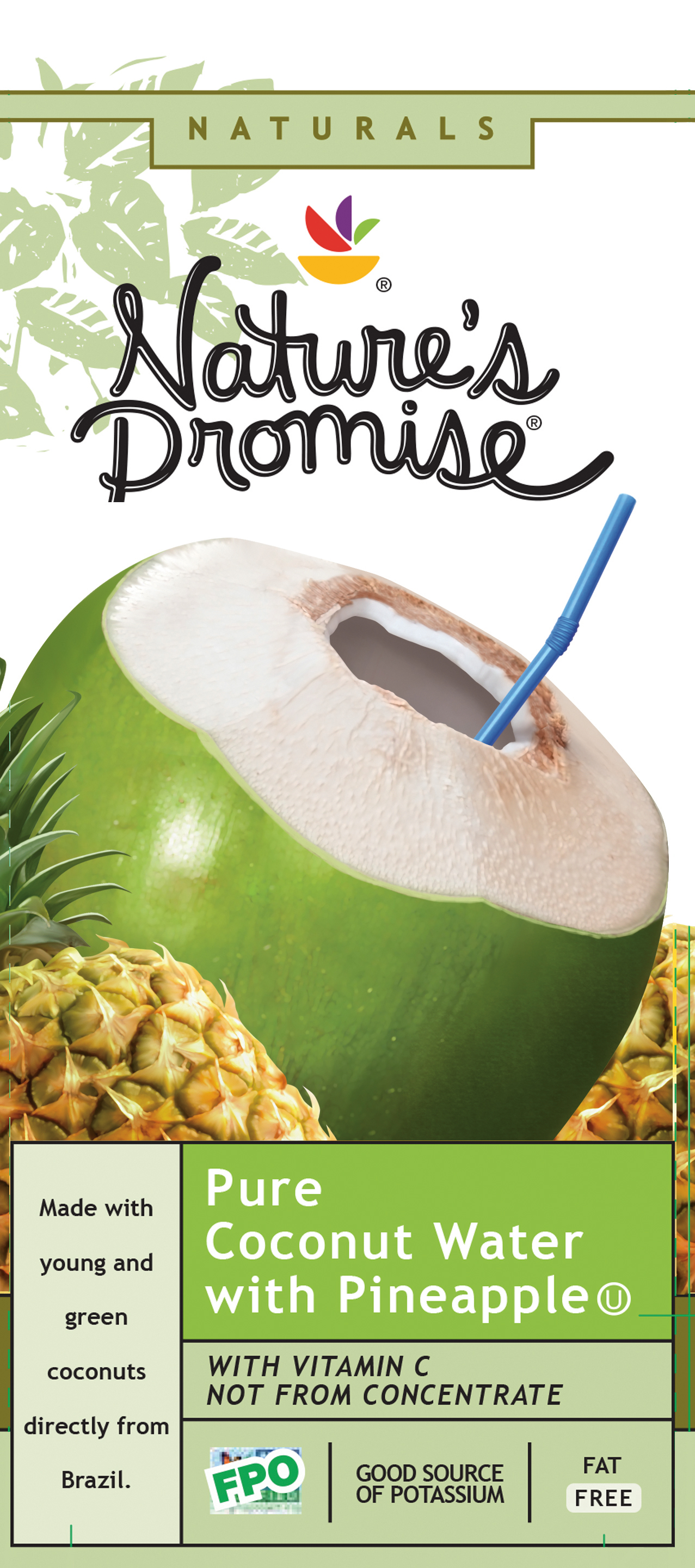 Coconut Pineapple Water