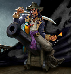 Slim Shooter pirate