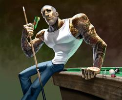 Slim Shooter billiards