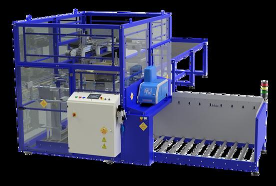 Máquina montadora de caixas com tampa acoplada - Modelo 1000