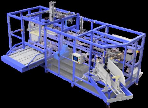 Máquina montadora de caixas para bag-in-box - Modelo 900