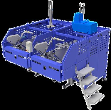 Máquina montadora de caixas bandeja dupla - Modelo 3600