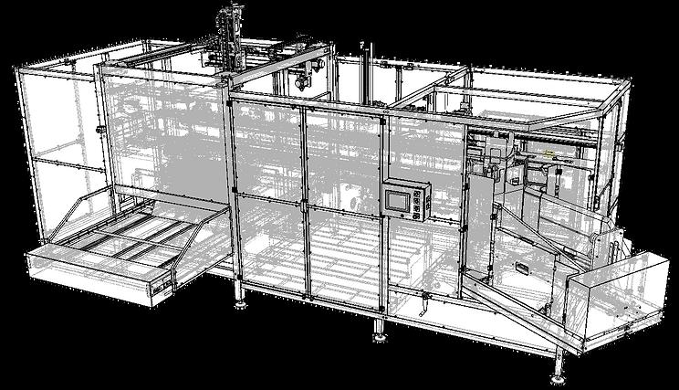 Maquina montadora de caixas MMC - 600 | Mesp