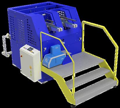Máquina formadora de bandejinhas - c/ 2 cabeçotes - Modelo V1