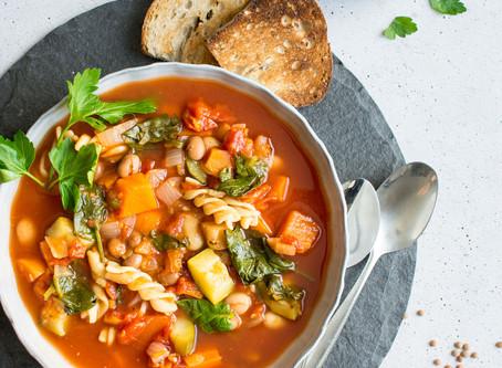 Receitas de inverno: minestrone