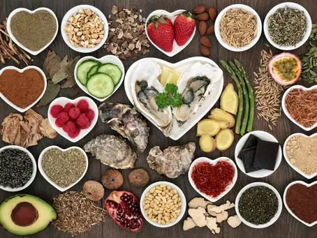 Alimentos para 'criar um clima'