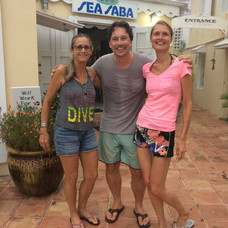Dirck, Sabine and Lynn Costerano