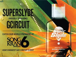 SuperSlyde is proud to be the Official Lube Sponsor for SongKran 6!