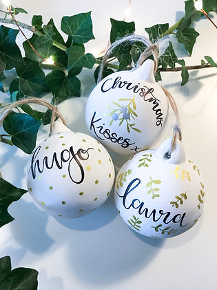 Personalised Bauble - Trio