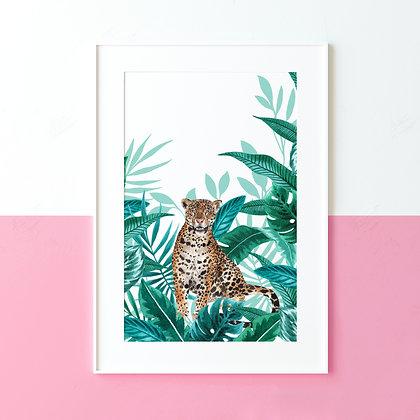 Jungle Jaguar Fine Art Print