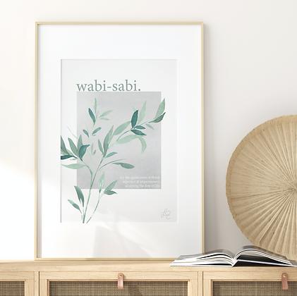 Wabi-Sabi Fine Art Print