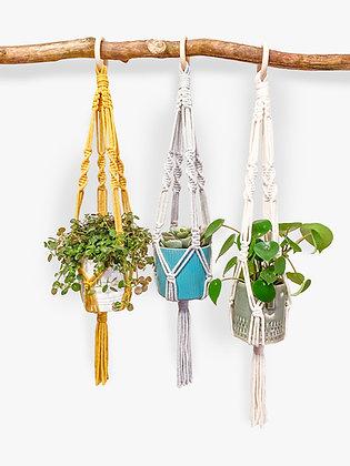 Twist Macrame Plant Hanger