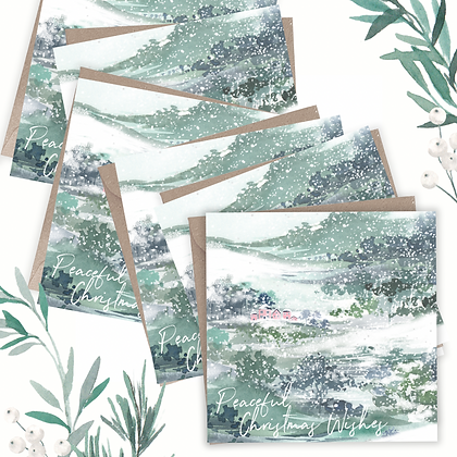 Peaceful Christmas - Pack of 6 Greetings Cards
