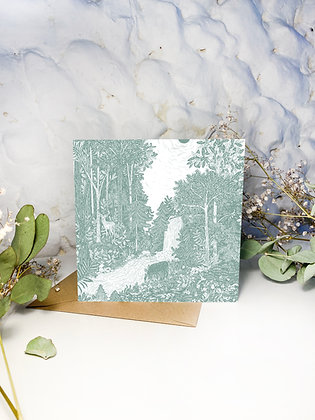 Forest Bathe Greeting Card
