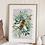 Thumbnail: Botanical Bee Fine Art Print
