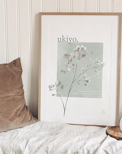 Ukiyo Fine Art Print