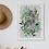 Thumbnail: Botanical Hare Fine Art Print