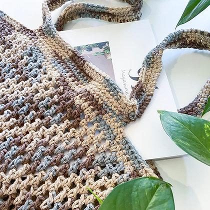 Crochet Boho Tote Bag - Sorrel