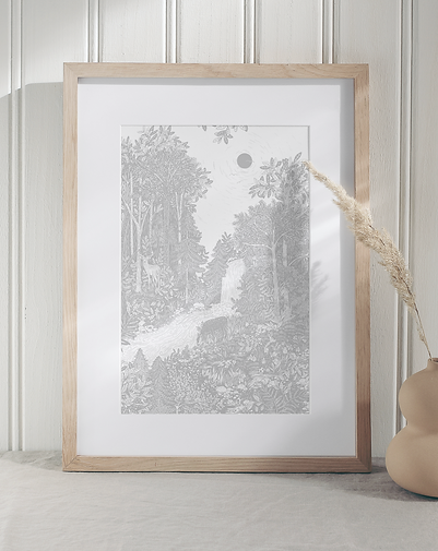Forest Bathe Fine Art Print