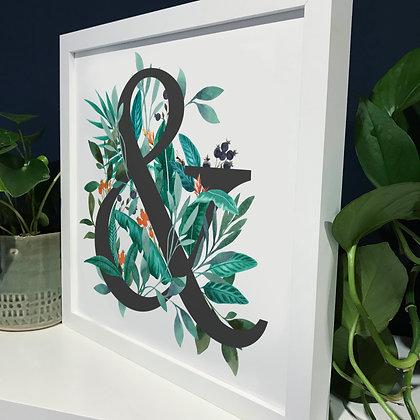 Ampersand Fine Art Print