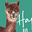 Thumbnail: Alpaca Happy Birthday Greeting Card