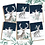 Thumbnail: Christmas Animals - Pack of 6 Greetings Cards