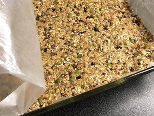 Superfood Bars for Holiday Travel