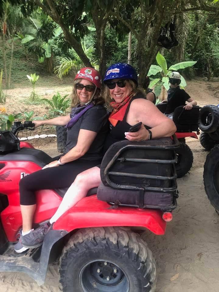Rhonda ATVing